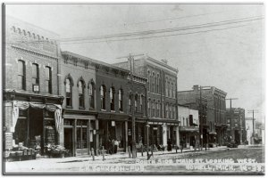 Grand River Avenue - Howell, MI circa 1900