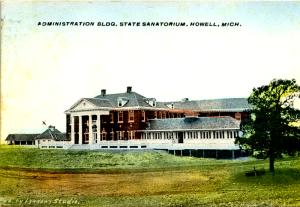 Sanitorium - Howell, MI circa 1907